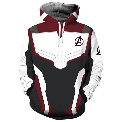 Avengers 4 Endgame Avengers: Infinity War - Part II Hoodie Pullover mit Kaputze Sweatshirt Quantenreich Suit Quantum Realm Suit