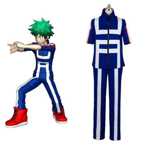 Boku no Hero Academia My Hero Academia Izuku Midoriya Trainingsanzug Cosplay Kostüm Set