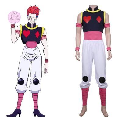 HUNTER×HUNTER - Hisoka Morou Cosplay Kostüm Outfits Halloween Karneval Kostüm