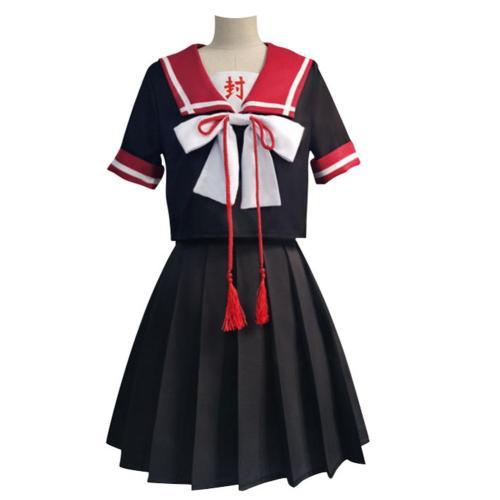 Jibaku Shoulen Toilet Bound Hanako-kun Yugi Tsukasa Cosplay Kostüm JK Uniform Halloween Karneval Outfits