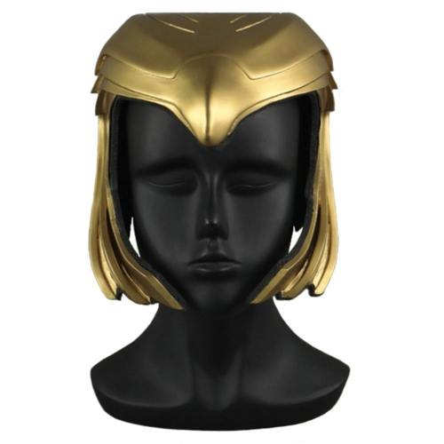 Wonder Woman 1984 Diana Kopfschmuck Cosplay PVC Helm Halloween Party Cosplay Requisite