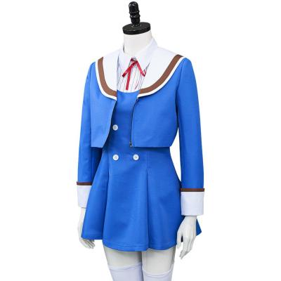 High Rise Invasion Shinzaki Kuon Cosplay Kostüm Halloween Karneval Uniform