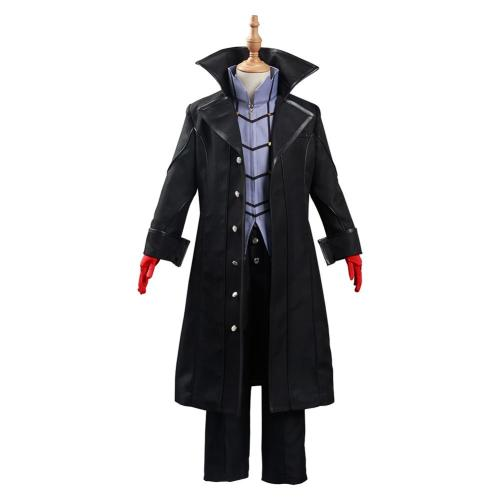 Persona 5 Joker Cosplay Kostüm Kinder Outfits Halloween Karneval Outfits für Kinder