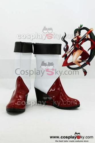 BlazBlue: Calamity Trigger Litchi Faye-Ling Cosplay Stiefel Schuhe