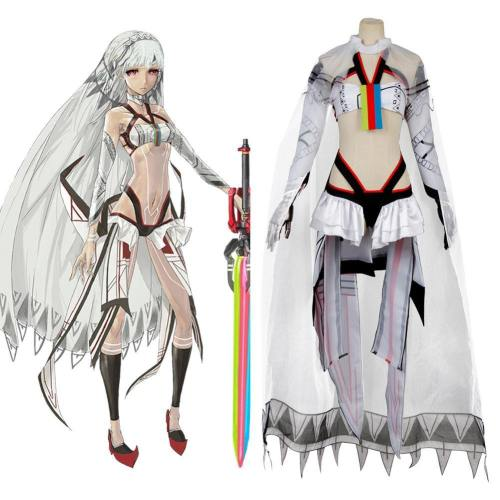 Fate Grand Order Saber Altera Altila Etzel Attila Stage 2 Cosplay Kostüm