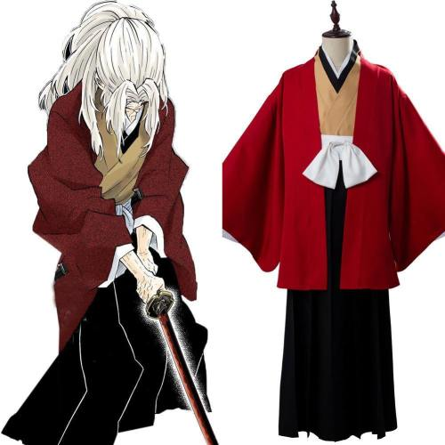 Yoriichi Tsugikuni Kimetsu no Yaiba Demon Slayer Cosplay Kostüm Set