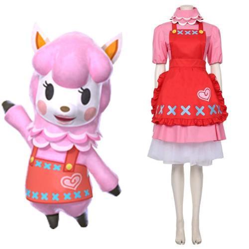 Animal Crossing Reece Cosplay Costumes Halloween Carnival Costumes Custom Made