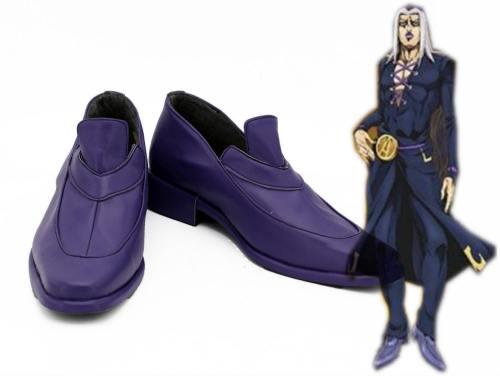Jotaro Kujo JoJo's Bizarre Adventure: Golden Wind Leone Abbacchio Cosplay Schuhe Stiefel