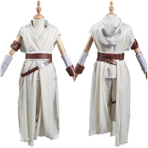 Kinder Star Wars The Rise of Skywalker Teaser Der Aufstieg Skywalkers Rey Cosplay Kostüm Kinder Halloween Karneval Kostüm