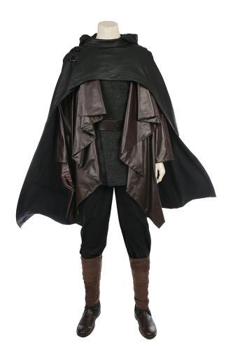 Star Wars 8 Die letzten Jedi Luke Skywalker Outfit Cosplay Kostüm