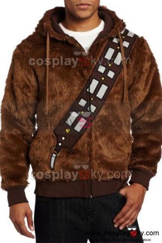 Star Wars I Am Chewie Chewbacca Furry Kostüm Kapuzenpulli Cosplay Jacke