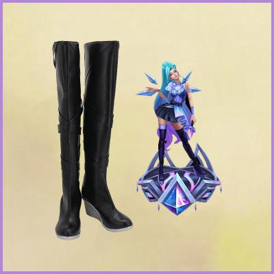 League of Legends LOL KDA The Baddest Seraphine Stiefel Cosplay Schuhe