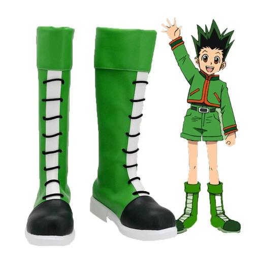 Gon Freecs Stiefel Hunter X Hunter Cosplay Schuhe