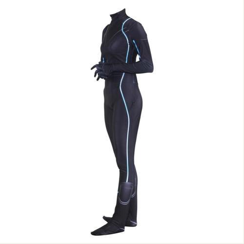 Avengers : Infinity War Natasha Romanoff alias Black Widow Jumpsuit Cosplay Kostüm