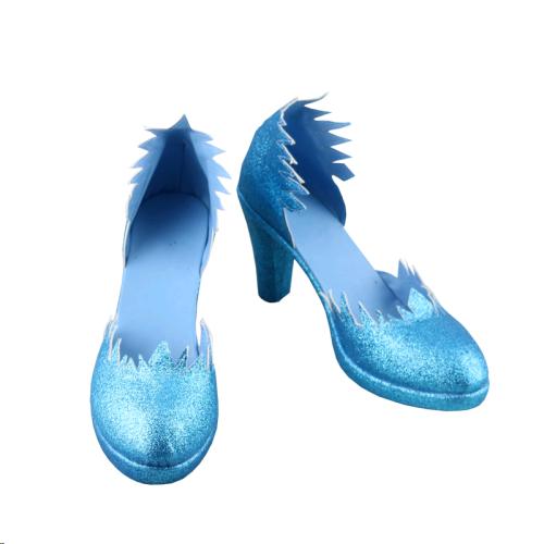Frozen Die Eiskönigin Snow Queen Elsa Cosplay Schuhe