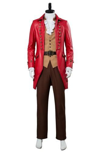 Die Schöne und das Biest Gaston Kostüm Luke Evans Cosplay Kostüm Beauty and the Beast