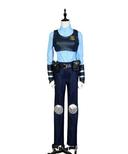 Zootopia Judy Zoomania Hase Judy Hopps Uniform Cosplay Kostüm