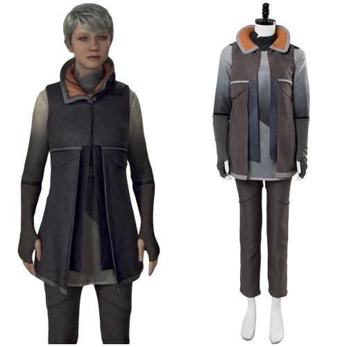 Detroit: Become Human KARA Code AX400 Uniform Cosplay Kostüm Set