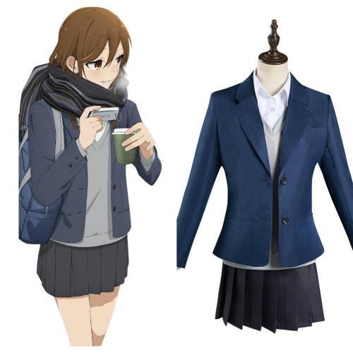Hori-san to Miyamura-kun Hori und Miyamura Hori Kyouko Schuluniform Cosplay Kostüm