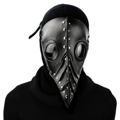 Pestarzt Pestdoktor Doctor Schnabel Maske aus Latex Erstellbar Cosplay Requisite