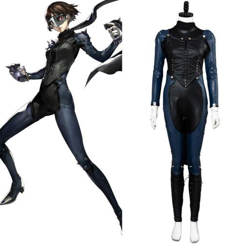 P5 Persona 5 Makoto Niijima Queen Schuluniform Phantom Thief Phantomdieb Cosplay Kostüm
