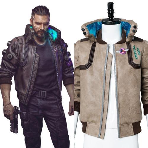 Cyberpunk 2077- V Video Spiel Top Jacke Cosplay Kostüm