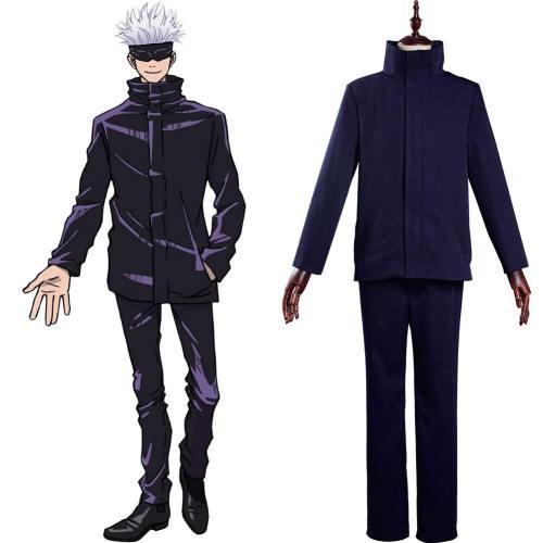 Satoru Gojo Uniform Jujutsu Kaisen Satoru Gojo Cosplay Kostüm für Alltag