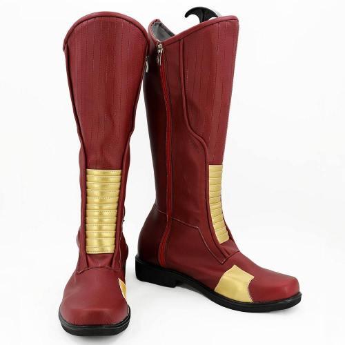 The Flash Season 4 Barry Allen Stiefel Cosplay Schuhe
