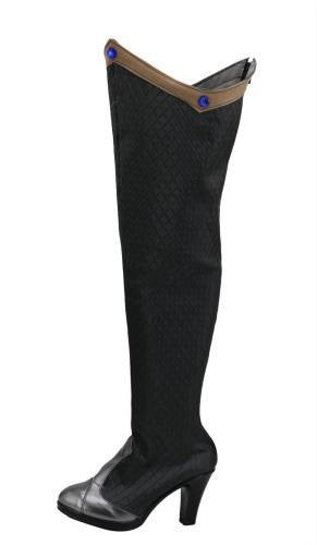 OVERWATCH OW Ashe Warlock Ashe Legendary Skin Halloween Terror Skin Stiefel Cosplay Schuhe