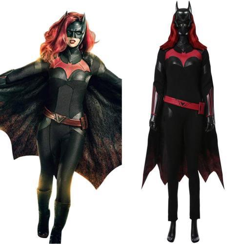Batwoman DC Comics Katherine Kate Kane Jmpsuit Cosplay Kostüm