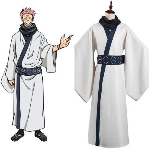 Jujutsu Kaisen Ryomen Sukuna Cosplay Kostüm Kimono Halloween Karneval Outfits