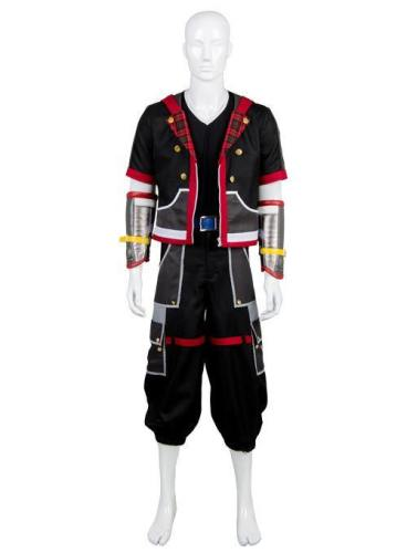 Kingdom Hearts III Protagonist Sora Outfit Uniform Cosplay Kostüm