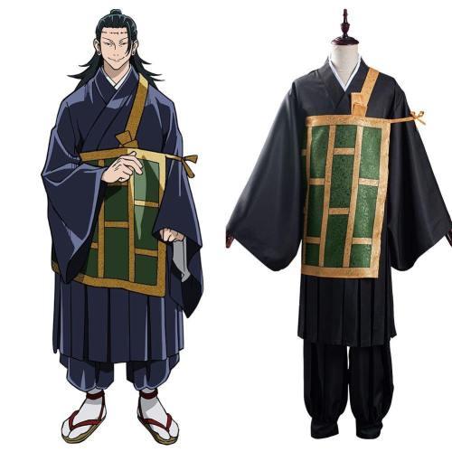 Jujutsu Kaisen Suguru Getou Cosplay Kostüm Kimono Halloween Karneval Kostüm