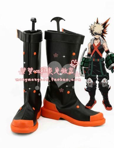 Boku no Hero Academia My Hero Academia Katsuki Bakugo Stiefel Cosplay Schuhe A