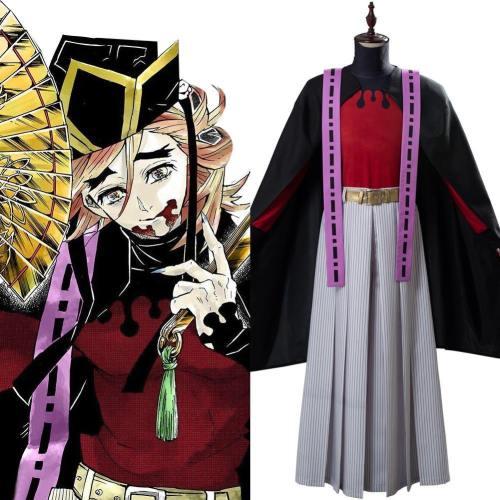 Doma Kimetsu no Yaiba Demon Slayer Kimono Cosplay Kostüm