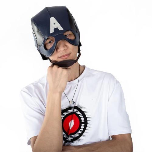 Avengers 4 Avengers: Endgame Captain America Maske Cosplay Requisite Maske Kopfbedeckung