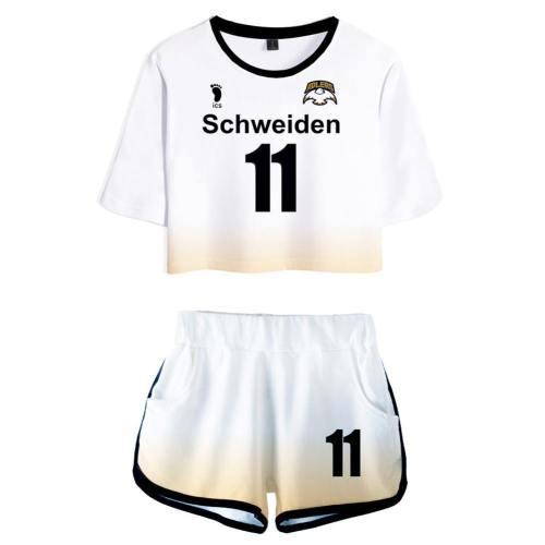 Schweiden Adlers Haikyuu!! Wakatoshi Ushijima Tobio Kageyama Uniform Schuluniform Cosplay Kostüm
