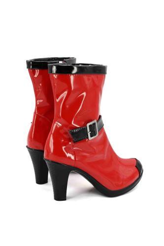 Deadpool Cosplay für Damen Stiefel Cosplay Schuhe