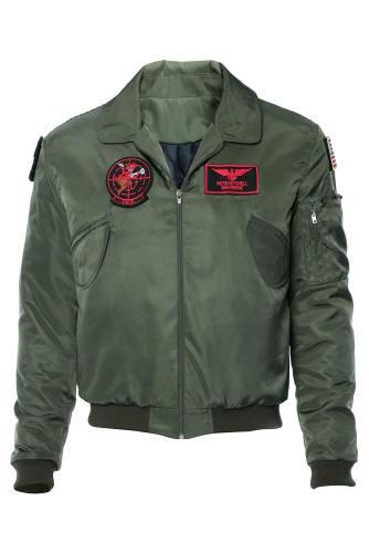 Top Gun 2 LT Pete 'Maverick' Mitchell Tom Cruise Jacke Pilot Jacke Cosplay Kostüm