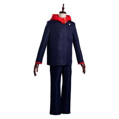 Yuji Itadori Schuluniform Jujutsu Kaisen Kostüm Cosplay Kostüm