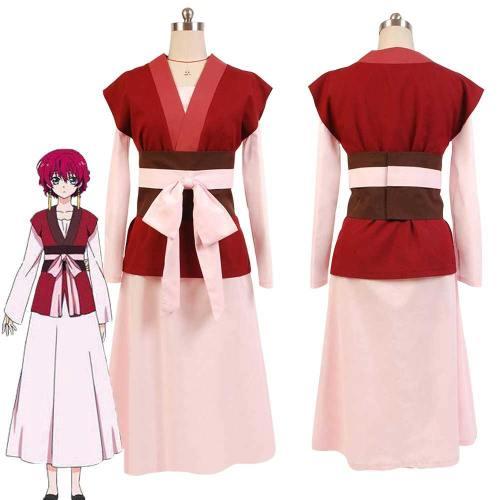 Akatsuki no Yona Prinzessin Yona Kleid Cosplay Kostüm Akatsuki no Yona