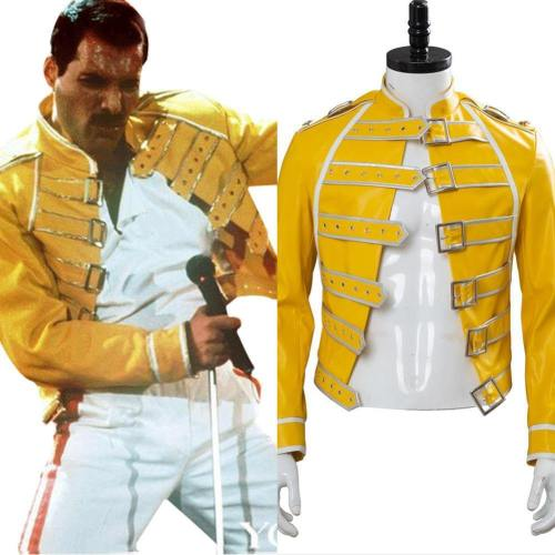 Band Queen Freddie Mercury Jacke Cosplay Kostüm NEU