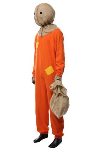 Trick 'r Treat Sam Kostüm Die Nacht der Schrecken Sam Kostüm für Erwachsene und Kinder