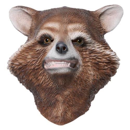 Avengers 4: Endgame Rocket Racoon Maske Latex Rocket Racoon Maske Cosplay Kopfbedeckung