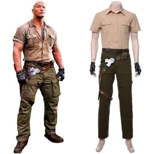Jumanji: The Next Level Dr. Smolder Bravestone Suit Cosplay Kostüm