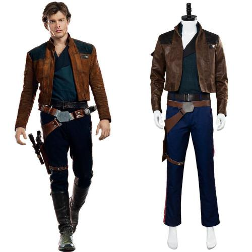 Solo: A Star Wars Story Han Solo Cosplay Kostüm