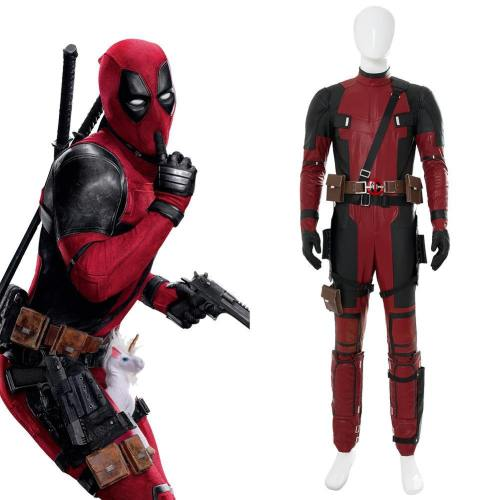 Deadpool 2 Untitled Deadpool Sequel (2018)  Deadpool Cosplay Kostüm Jumpsuit