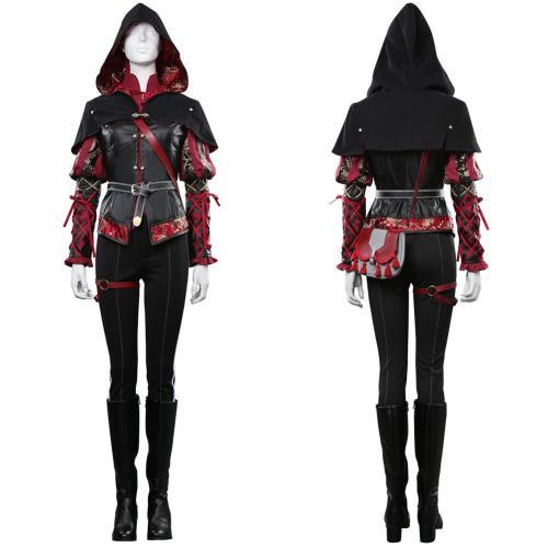 The Witcher 3 Anna Henrietta Cosplay Kostüme Halloween Karneval Outfits