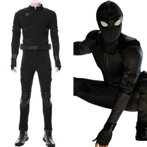 Spider-Man: Far From Home Noir Schwarz Suit Cosplay Kostüm NEU