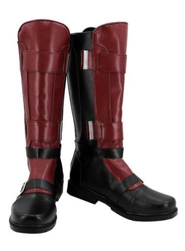 Marvel Deadpool Wade Wilson Cosplay Schuhe